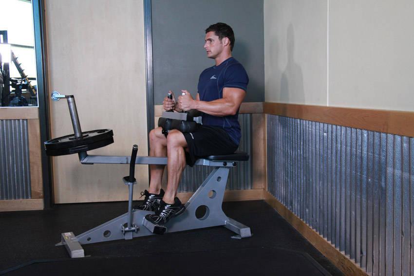 ساق نشسته با دستگاه