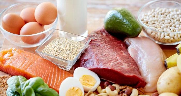 پروتئین برای سیکس پک سریع