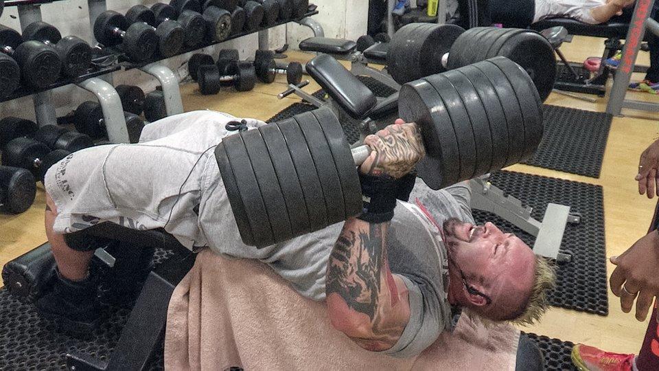 عضله سازی با کریس گتین