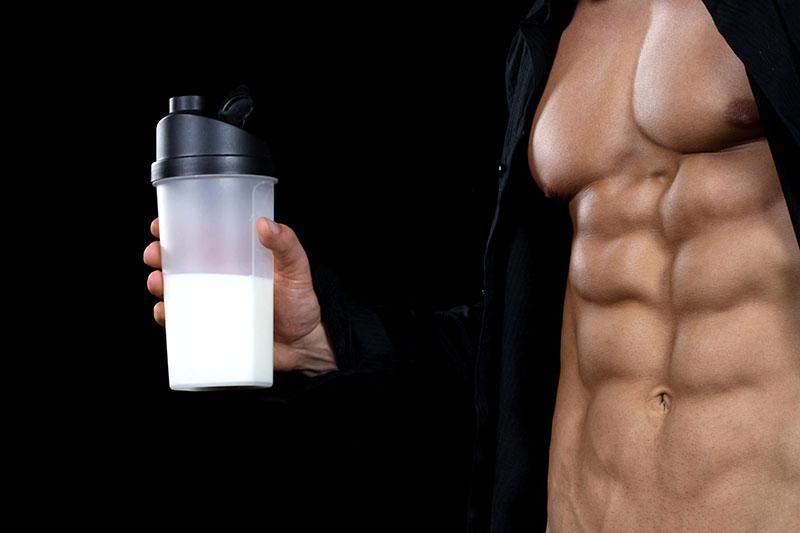 رژیم شیر برای بدنسازی