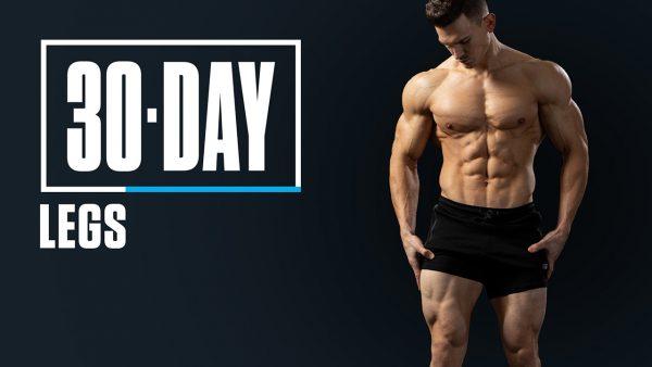 برنامه بدنسازی پا در سی روز